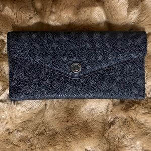 Michael Kors Leather Trifold Wallet 🖤